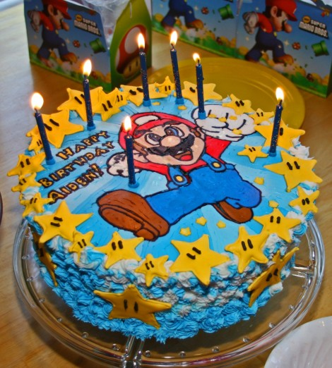 Mario Cake with FBT